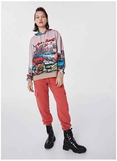 Twist Sweatshirt Bej